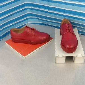 100%Calf Leather PAUL SMITH Wmn Brogue Oxford 37us